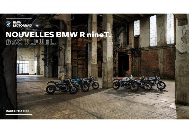 normandy motos nouvelle bmw r nine t