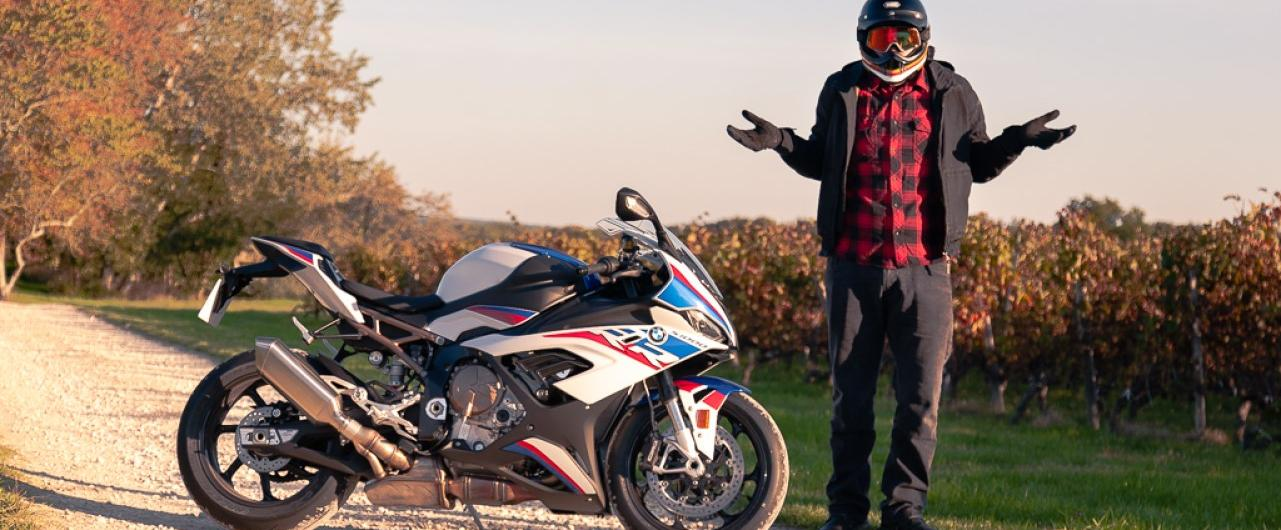 Un weekend en BMW S 1000 RR pack M!